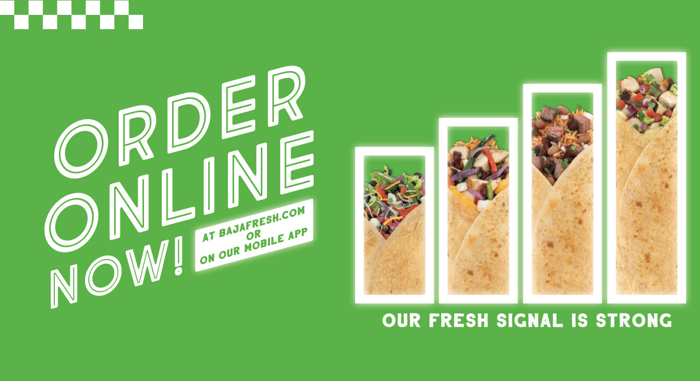image regarding Baja Fresh Coupons Printable named Baja Contemporary Mexican Grill: Neighborhood Mexican Food stuff